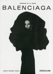 Balenciaga - Couverture - Format classique
