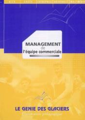 Management de l'équipe commerciale ; BTS NRC ; pochette de l'élève - Couverture - Format classique