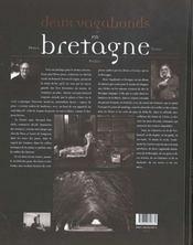 Deux vagabonds en Bretagne - 4ème de couverture - Format classique