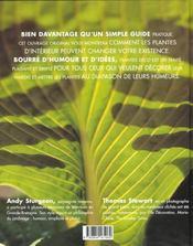 Plantes Deco - 4ème de couverture - Format classique