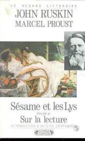 Sesame et les lys - Couverture - Format classique