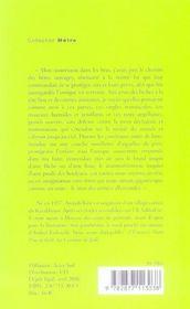 Le Lotus - 4ème de couverture - Format classique