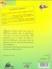 Toufou, Droles De Betes - 4ème de couverture - Format classique