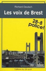 Les voix de Brest - Couverture - Format classique