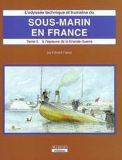 Sous-marin en france (t3-volume 2) - Couverture - Format classique