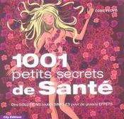 1001 petits secrets de sante - Intérieur - Format classique