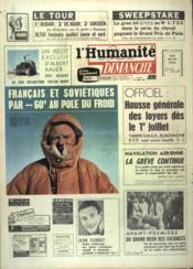 Humanite Dimanche (L') N°827 du 28/06/1964 - Couverture - Format classique
