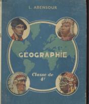 Geographie - Classe De 4e - L'Europe Et L'Asie Russe - Couverture - Format classique