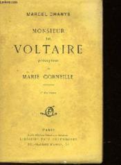 Monsieur De Voltaire Percepteur De Marie Corneille - Couverture - Format classique