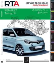 Vente  REVUE TECHNIQUE AUTOMOBILE N.816 ; Renault Twingo III ; 2.0 SCe 70 ch ; 2014  - Etai - Collectif