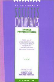 Ethique Professionnelle - Couverture - Format classique