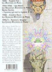 Les Futurs Mysteres De Paris T.2 ; Les Ravisseurs Quantiques - 4ème de couverture - Format classique