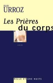 Les Prieres Du Corps - Couverture - Format classique