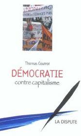 Démocratie contre capitalisme - Intérieur - Format classique