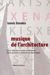 Musique de l'architecture - Intérieur - Format classique