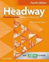 New Headway, 4th Edition Pre-Intermediate: Workbook Without Key And Ichecker Cd Pack - Couverture - Format classique