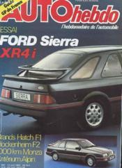 Auto Hebdo N°364 - Guide Gp De France - Couverture - Format classique