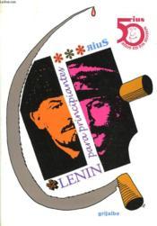 Lenin Para Principiantes - Couverture - Format classique