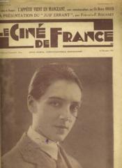 Le Cine De France - Premiere Annee - N°8 - Couverture - Format classique