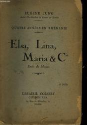 Elsa, Lina, Maria & Cie - Couverture - Format classique