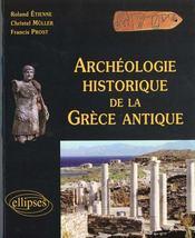 Archeologie historique de la grece antique - Intérieur - Format classique