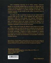 Archeologie historique de la grece antique - 4ème de couverture - Format classique