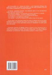 Le grand livre des inséparables ; installation, logement, élevage, alimentation, reproduction, santé... - 4ème de couverture - Format classique