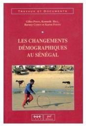 Les changements démographiques au Sénégal - Couverture - Format classique
