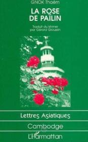 La rose de Païlin - Couverture - Format classique