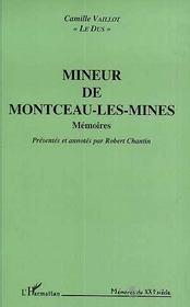 Mineur De Montceau-Les-Mines - Intérieur - Format classique