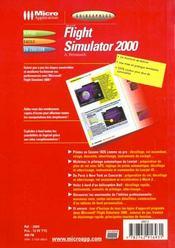 Guidexpress flight simula 2000 - 4ème de couverture - Format classique
