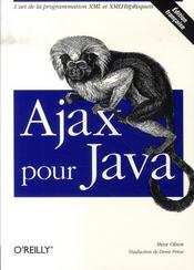 Ajax pour java - Intérieur - Format classique