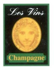 Le Champagne Mini-Livre - Couverture - Format classique