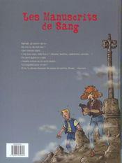 Fouilles Mortelles - 4ème de couverture - Format classique
