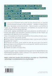 Magie Des Presages (La) - 4ème de couverture - Format classique