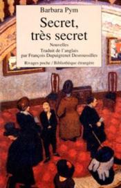 Secret, très secret - Couverture - Format classique