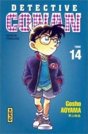 Detective Conan T14 - Couverture - Format classique