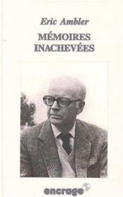 Memoires Inachevees - Couverture - Format classique