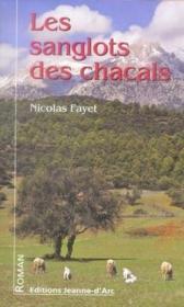 Les sanglots des chacals - Couverture - Format classique