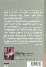 Cahiers Alexandre Dumas N30 - 4ème de couverture - Format classique