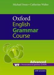 Vente  Oxford english grammar course: advanced with answers cd-rom pack  - Xxx