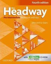 New Headway, 4th Edition Pre-Intermediate: Workbook With Key And Ichecker Cd Pack - Couverture - Format classique