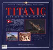 Titanic - 4ème de couverture - Format classique