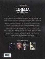 L'Atlas Du Cinema Mondial - 4ème de couverture - Format classique