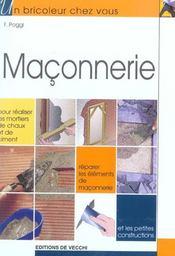 Maconnerie - Intérieur - Format classique