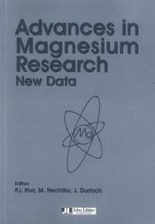 Vente  Advances In Magnesium Research. New Data  - Collectif