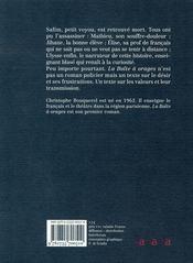 La boîte à orages - 4ème de couverture - Format classique