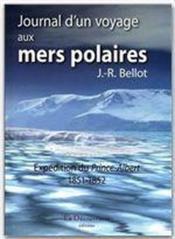 Journal d'un voyage aux mers polaires ; expédition du Prince Albert ; 1851-1852 - Couverture - Format classique