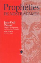 Propheties De Nostradamus - Couverture - Format classique