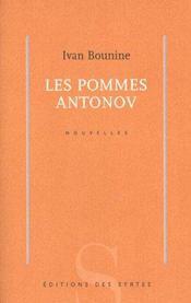 Les Pommes Antonov - Intérieur - Format classique
